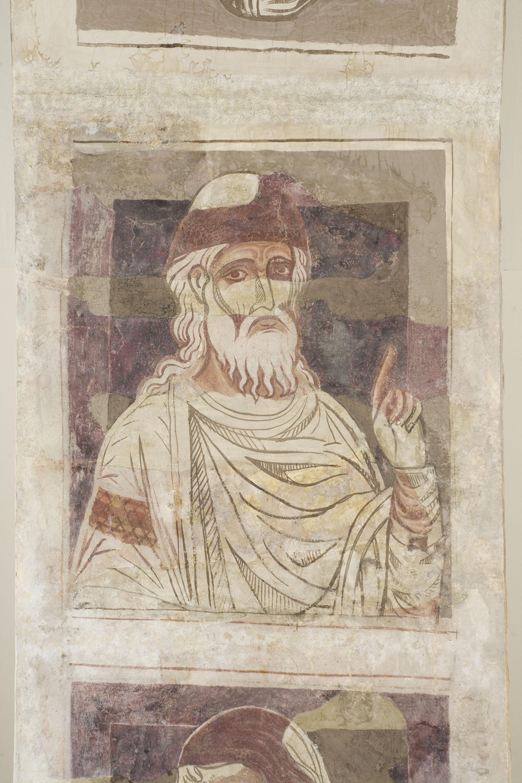 Mestre de la sala capitular de Sixena - De Jannai a Naüm de la genealogia de Crist segons Lluc, de la sala capitular de Sixena - Entre 1196-1208 [1]