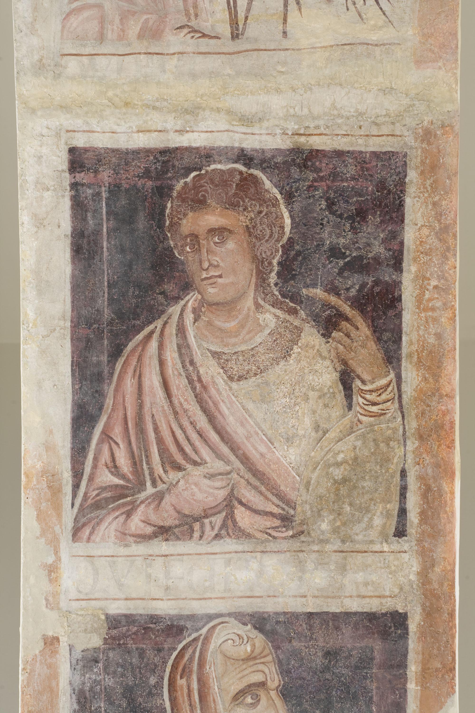 Mestre de la sala capitular de Sixena - De Jannai a Naüm de la genealogia de Crist segons Lluc, de la sala capitular de Sixena - Entre 1196-1208 [4]