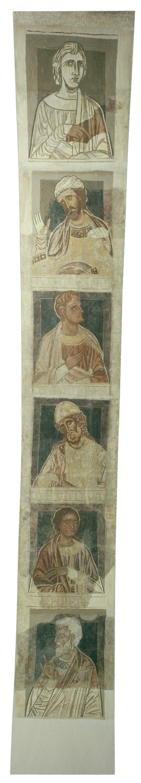 Mestre de la sala capitular de Sixena - De Nangai a Resà de la genealogia de Crist segons Lluc, de la sala capitular de Sixena - Entre 1196-1208