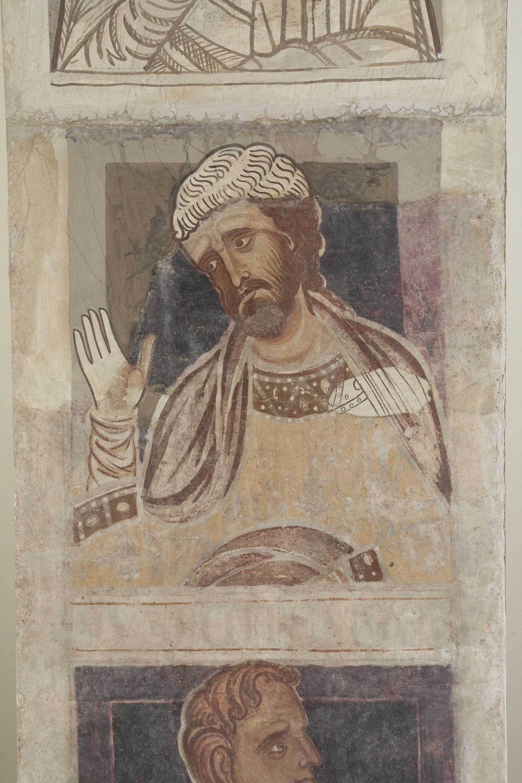 Mestre de la sala capitular de Sixena - De Nangai a Resà de la genealogia de Crist segons Lluc, de la sala capitular de Sixena - Entre 1196-1208 [2]