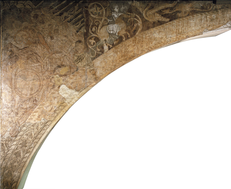 Mestre de la sala capitular de Sixena - L'exèrcit del faraó negat al mar Roig, de la sala capitular de Sixena - Entre 1196-1208