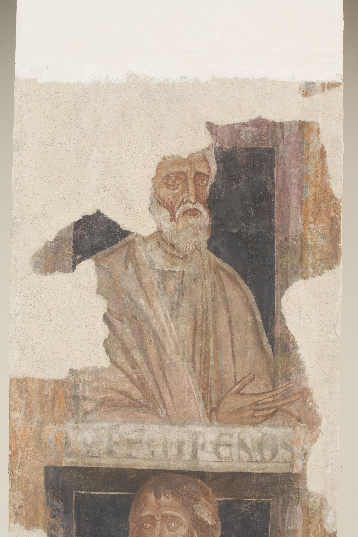Mestre de la sala capitular de Sixena - D'Enoix a Set de la genealogia de Crist segons Lluc, de la sala capitular de Sixena - Entre 1196-1208 [1]
