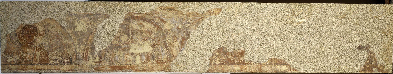 Mestre de la sala capitular de Sixena - Fris amb àngels i laberints, de la sala capitular de Sixena - Entre 1196-1208
