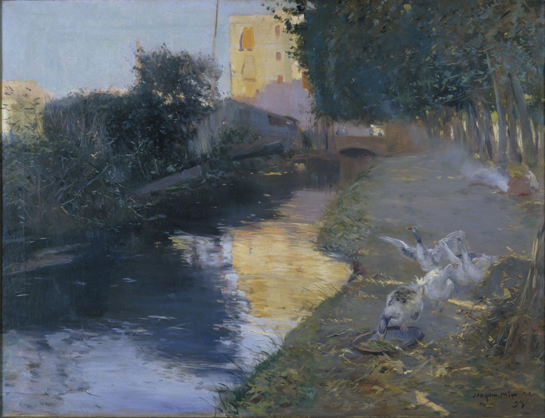 Joaquim Mir - La séquia - 1897