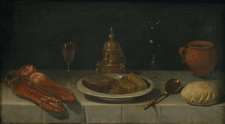 Juan van der Hamen y León - Natura morta amb taula parada - Cap a 1620