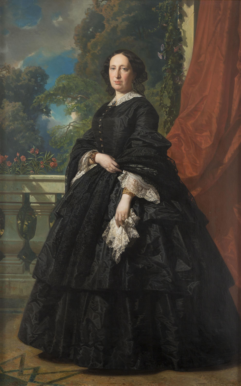 Federico de Madrazo - Retrat de Carlota Quintana Badia - 1869