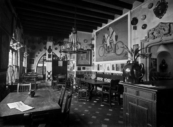 Ramon Casas - Ramon Casas i Pere Romeu en un tàndem - Barcelona, 1897 [2]