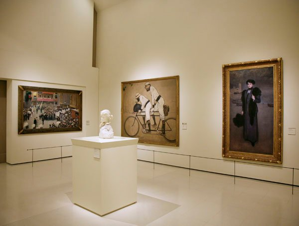 Ramon Casas - Ramon Casas i Pere Romeu en un tàndem - Barcelona, 1897 [5]