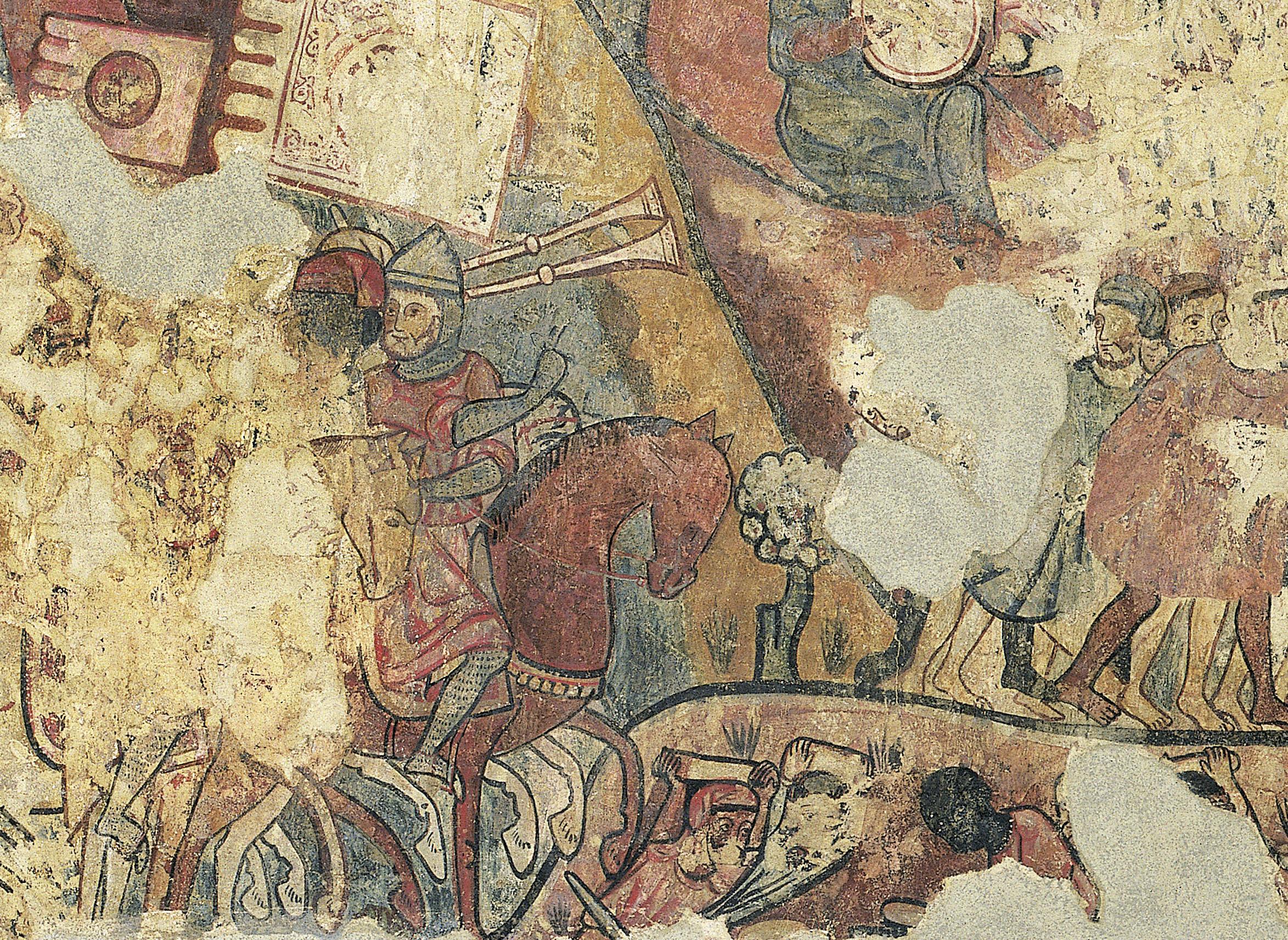 Mestre de la conquesta de Mallorca - Pintures murals de la conquesta de Mallorca - 1285-1290 [3]