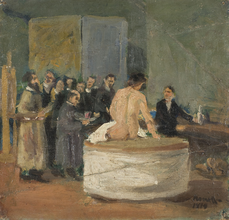 Isidre Nonell - Acadèmia Artística Lliure de Barcelona - Barcelona, 1894