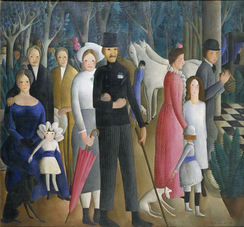 Olga Sacharoff - Un casament - 1919-1923