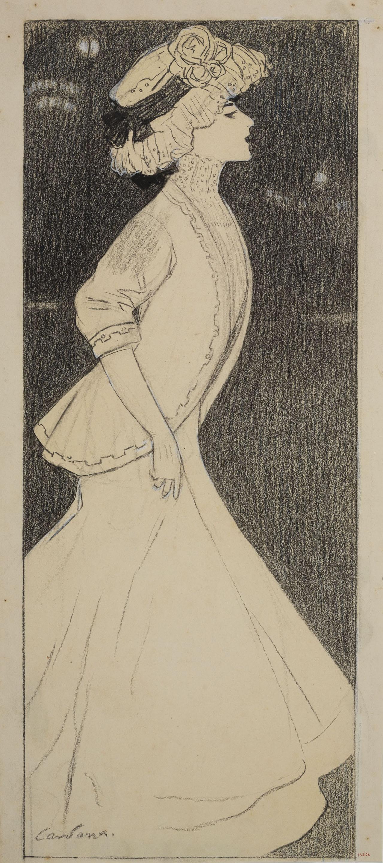 Joan Cardona - «Lo que dihuen ellas» - 1908