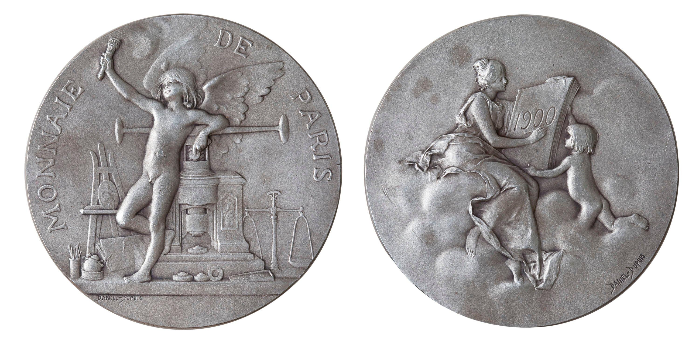 Jean-Baptiste Daniel-Dupuis - The Paris coin for the International Numismatics Congress - 1900