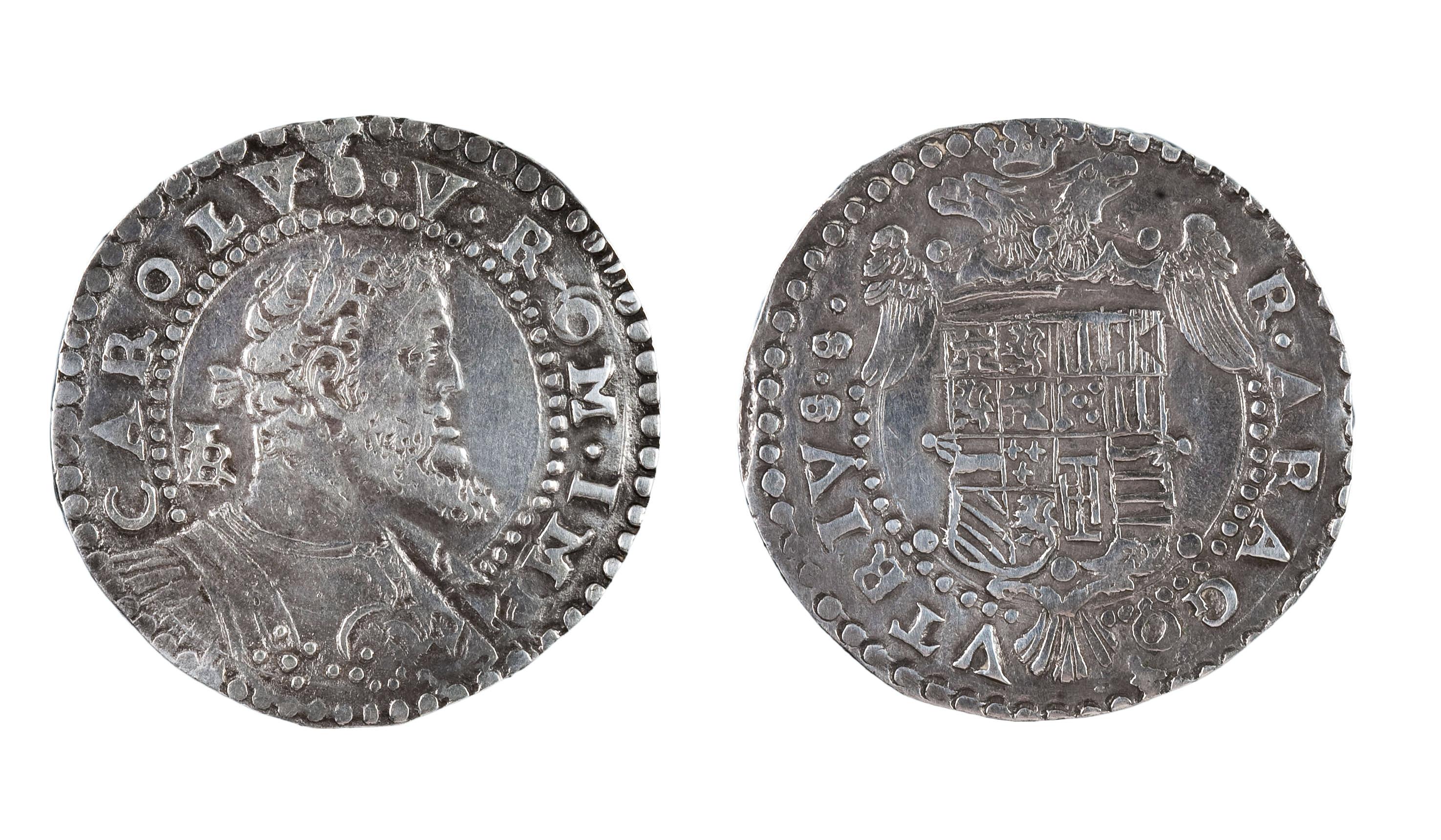 Carles I - Mig ducat - 1548 - 1554