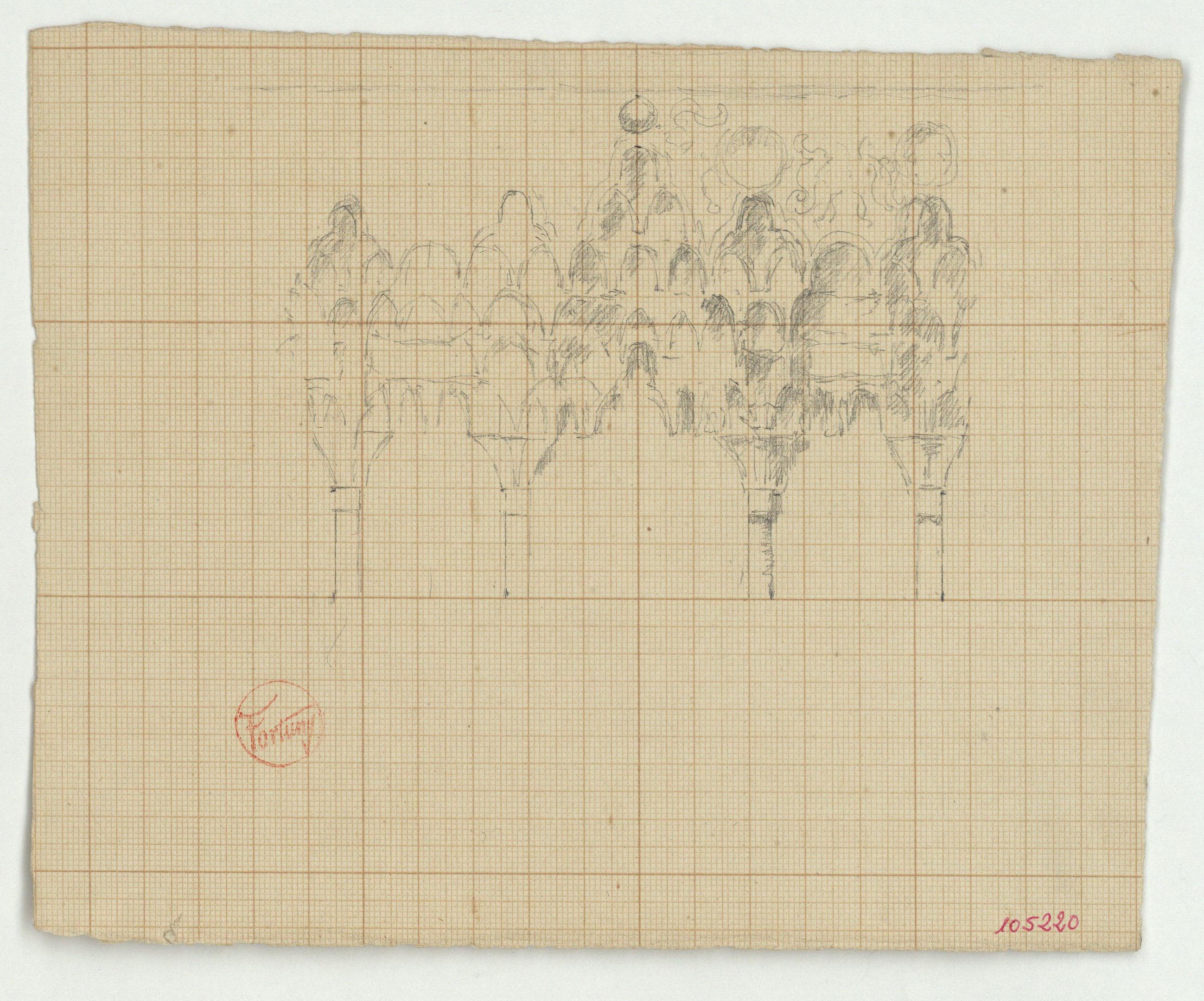 Marià Fortuny - Arcuació d'estil musulmà - Cap a 1870-1872