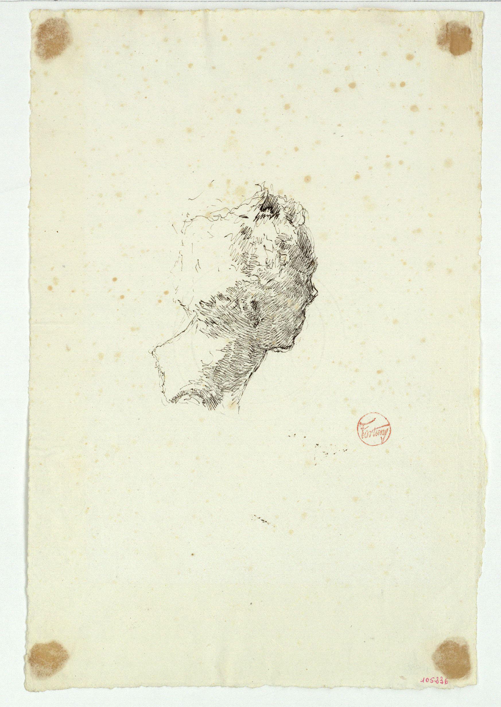 Marià Fortuny - Retrat de Vincenzo Gemito - Cap a 1874