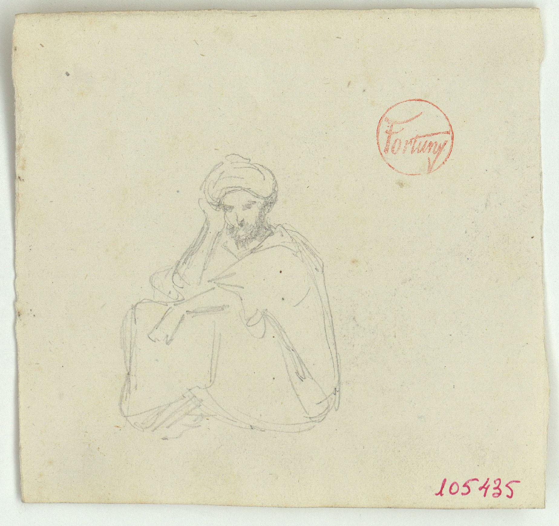 Marià Fortuny - Marroquí - Cap a 1860-1862