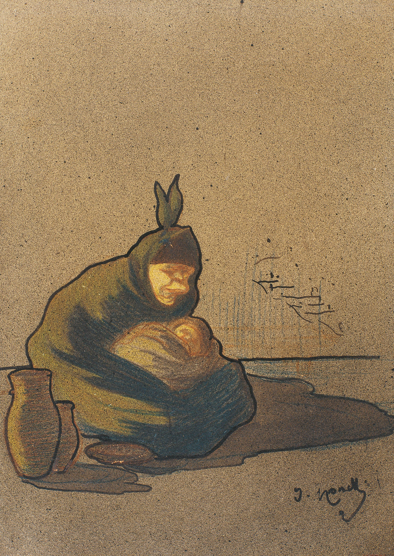 Isidre Nonell - Cretina de Boí - 1896-1897
