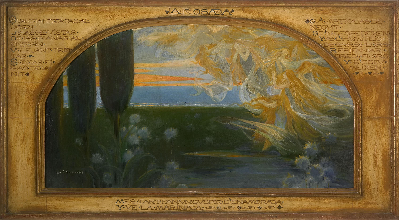 Adrià Gual - El rocío - 1897