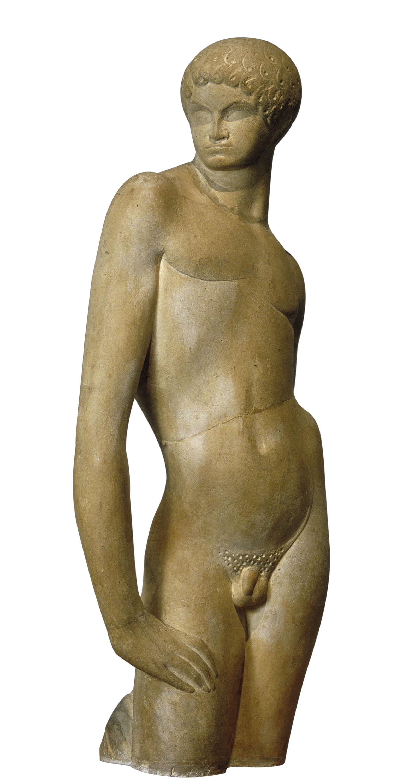 Pablo Gargallo - Nu d'home jove - 1918