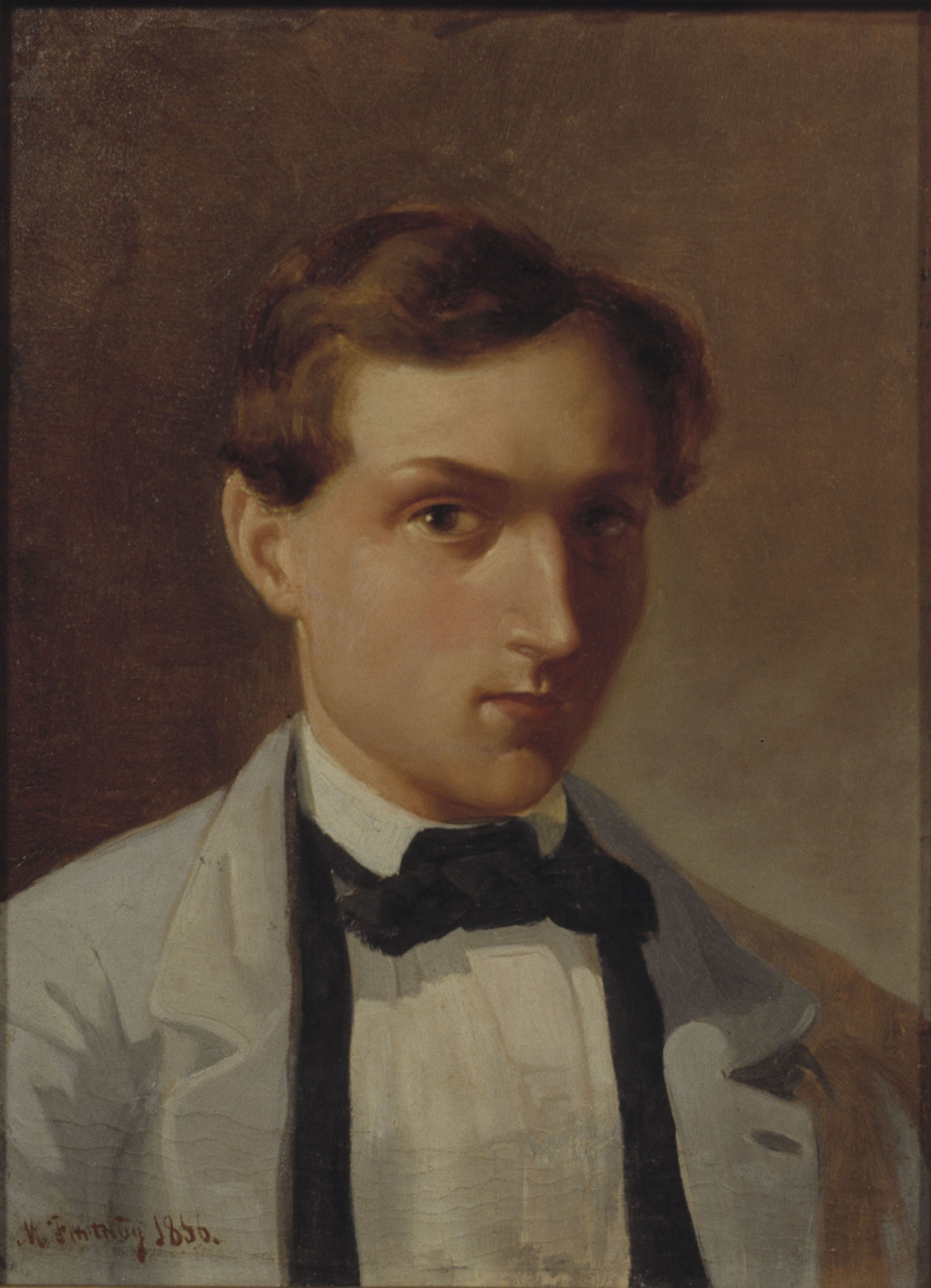 Marià Fortuny - Portrait of Laureà Esteve i Nadal - Barcelona, 1856