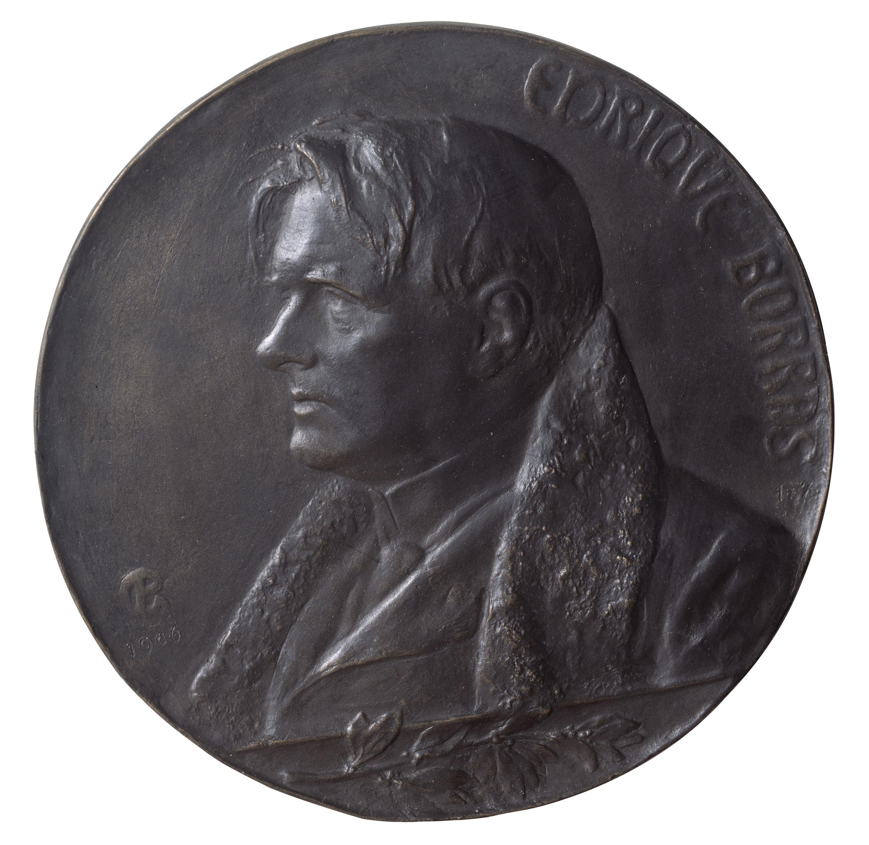 Pablo Gargallo - Portrait of the actor Enric Borràs (1863-1957) - 1906