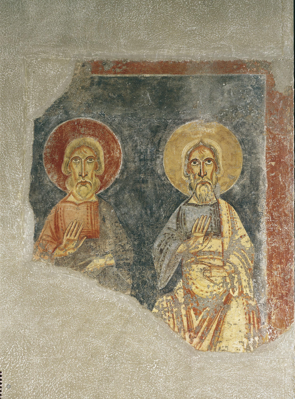 Mestre de Pedret - Profetes de l'arc triomfal del Burgal - Finals del segle XI