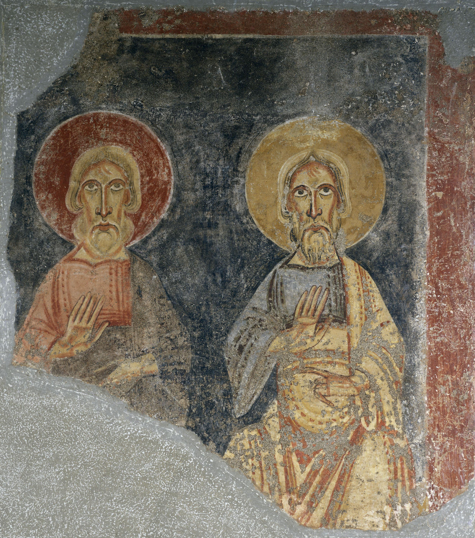 Mestre de Pedret - Profetes de l'arc triomfal del Burgal - Finals del segle XI [1]