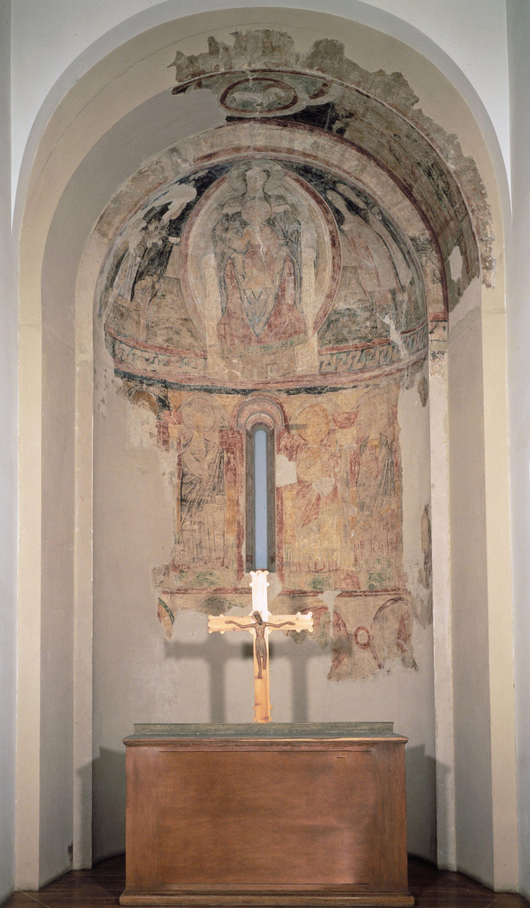 Mestre de Santa Maria de Taüll - Segon arrencament de l'absis de Santa Maria de Taüll - Cap a 1123