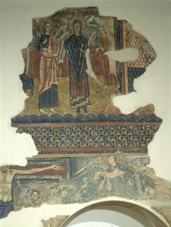 Mestre de Sorpe - Anunciació, Naixement i Crucifixió de Sorpe - Mitjan segle XII [2]