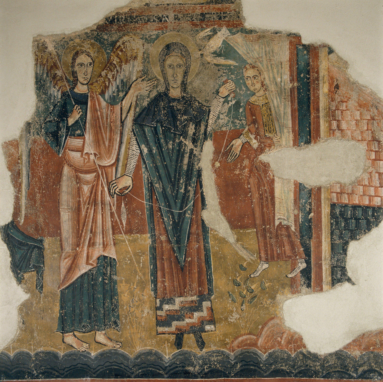 Mestre de Sorpe - Anunciació, Naixement i Crucifixió de Sorpe - Mitjan segle XII [5]