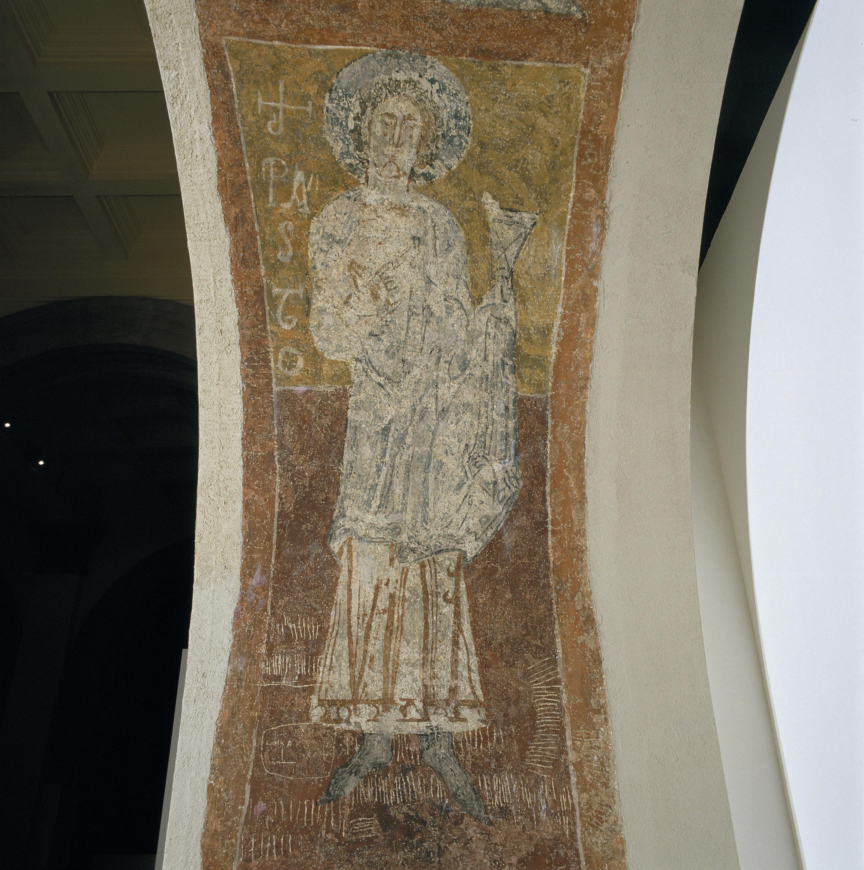 Tercer Mestre de Sorpe - Sant Pastor i el símbol zodiacal de Càncer de Sorpe - Mitjan segle XII [1]
