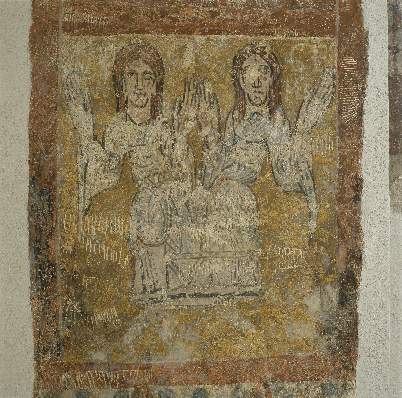 Tercer Mestre de Sorpe - Sant Feliu i el símbol zodiacal de Gèminis de Sorpe - Mitjan segle XII [2]