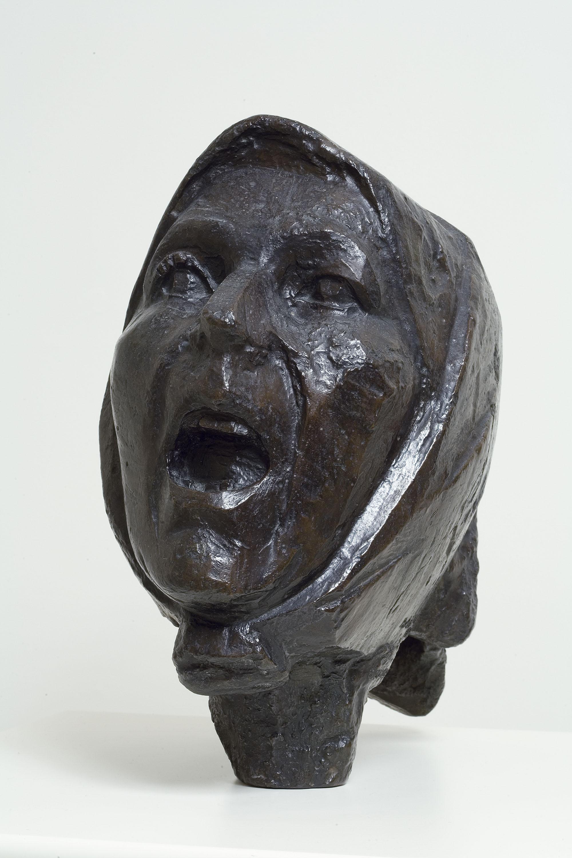 Juli González - Cap de Montserrat cridant - Cap a 1942