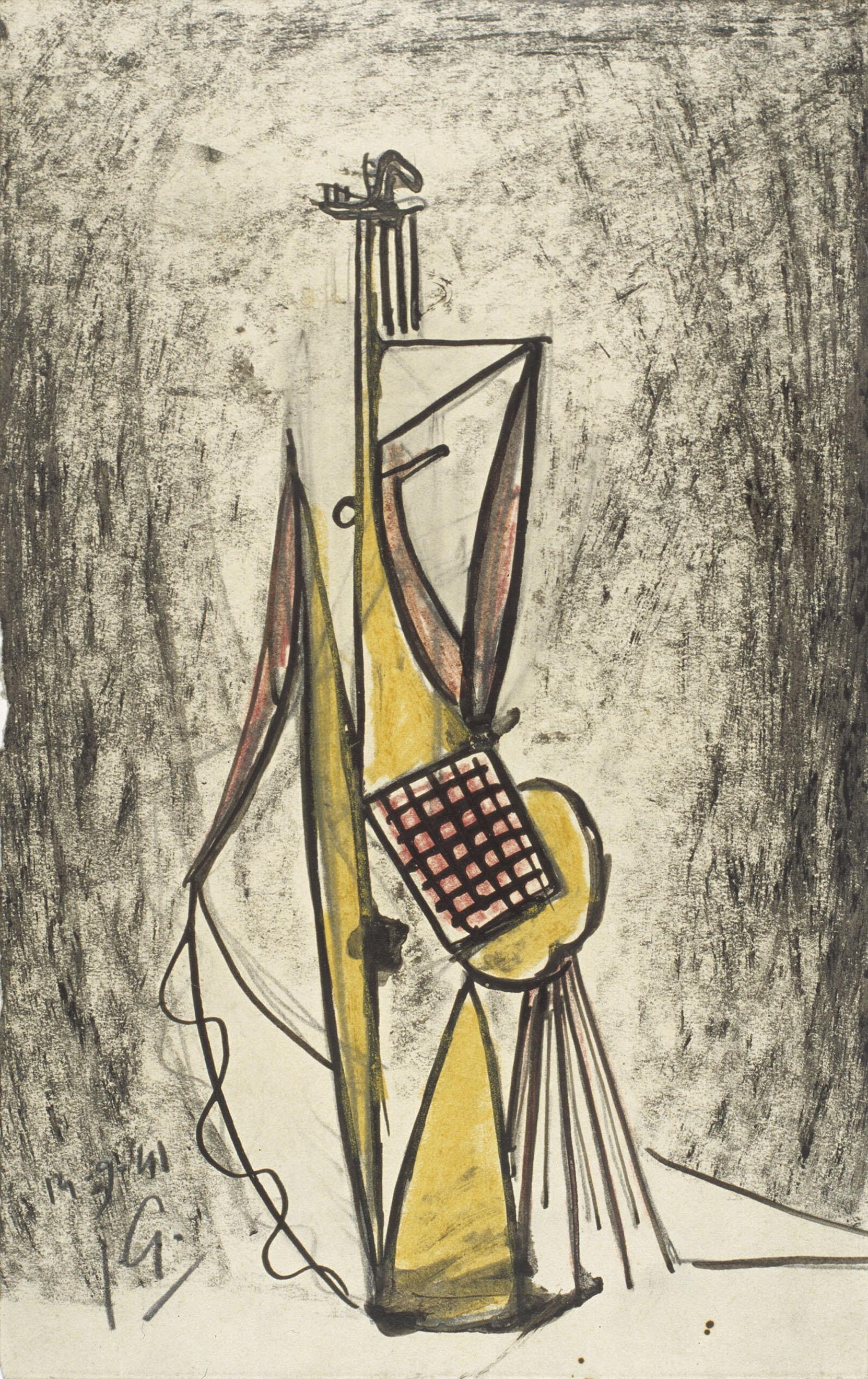 Juli González - Personatge a la graella (Personnage à la grille) - 1941