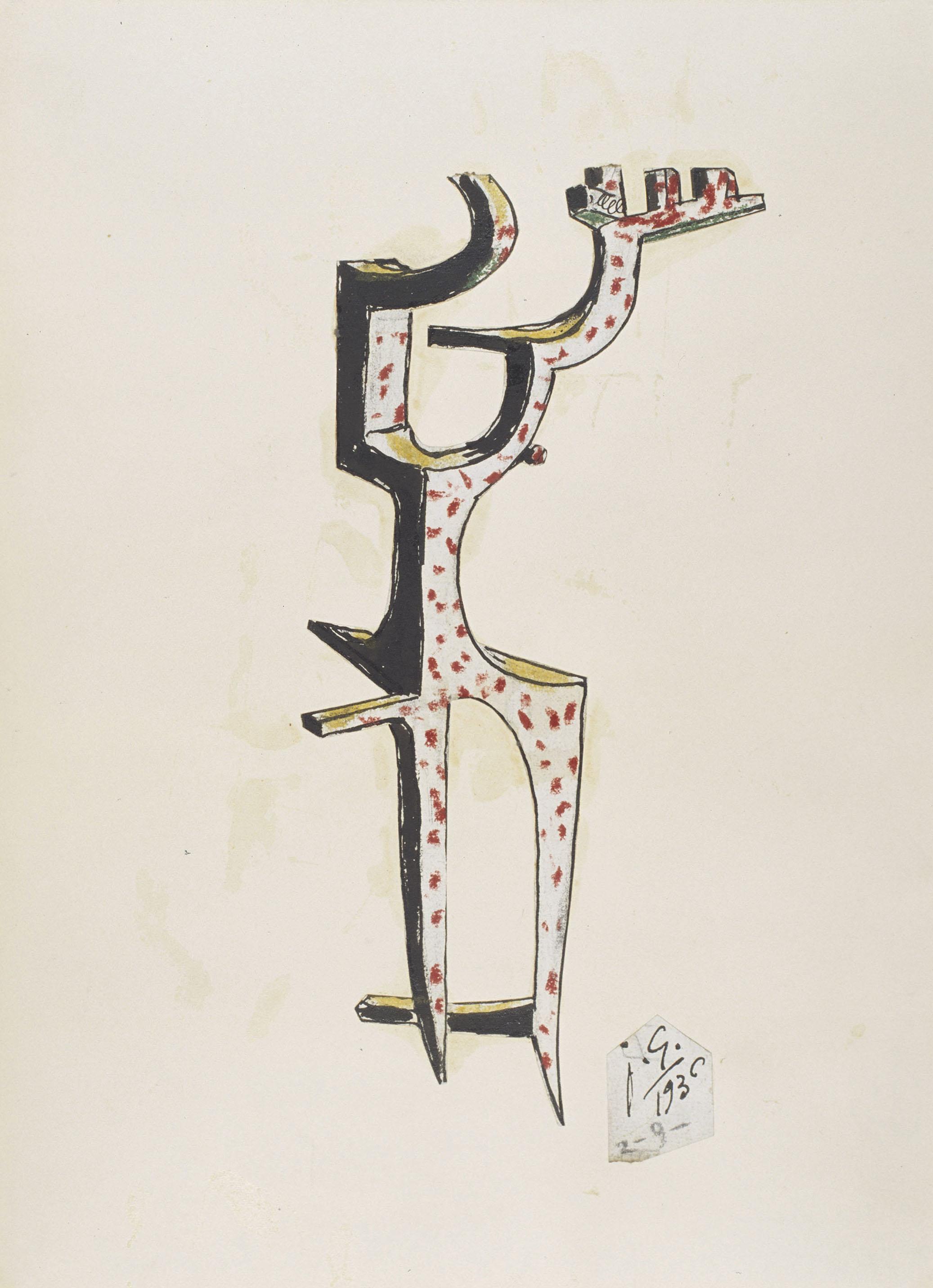 Juli González - Formes massisses (Formes massives) - 1936