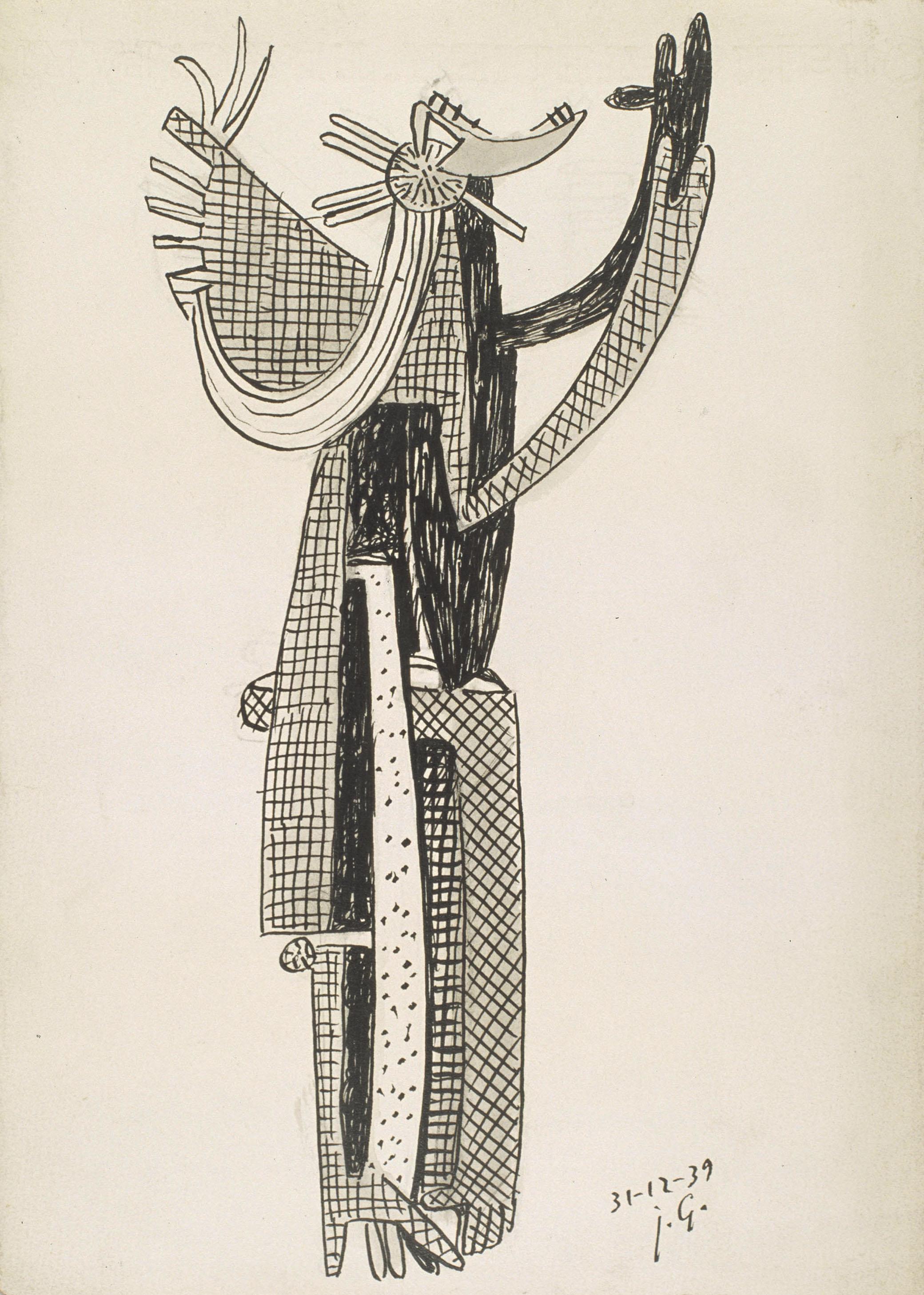 Juli González - Dona pentinant-se núm. 2 (Femme se coiffant nº 2) - 1939