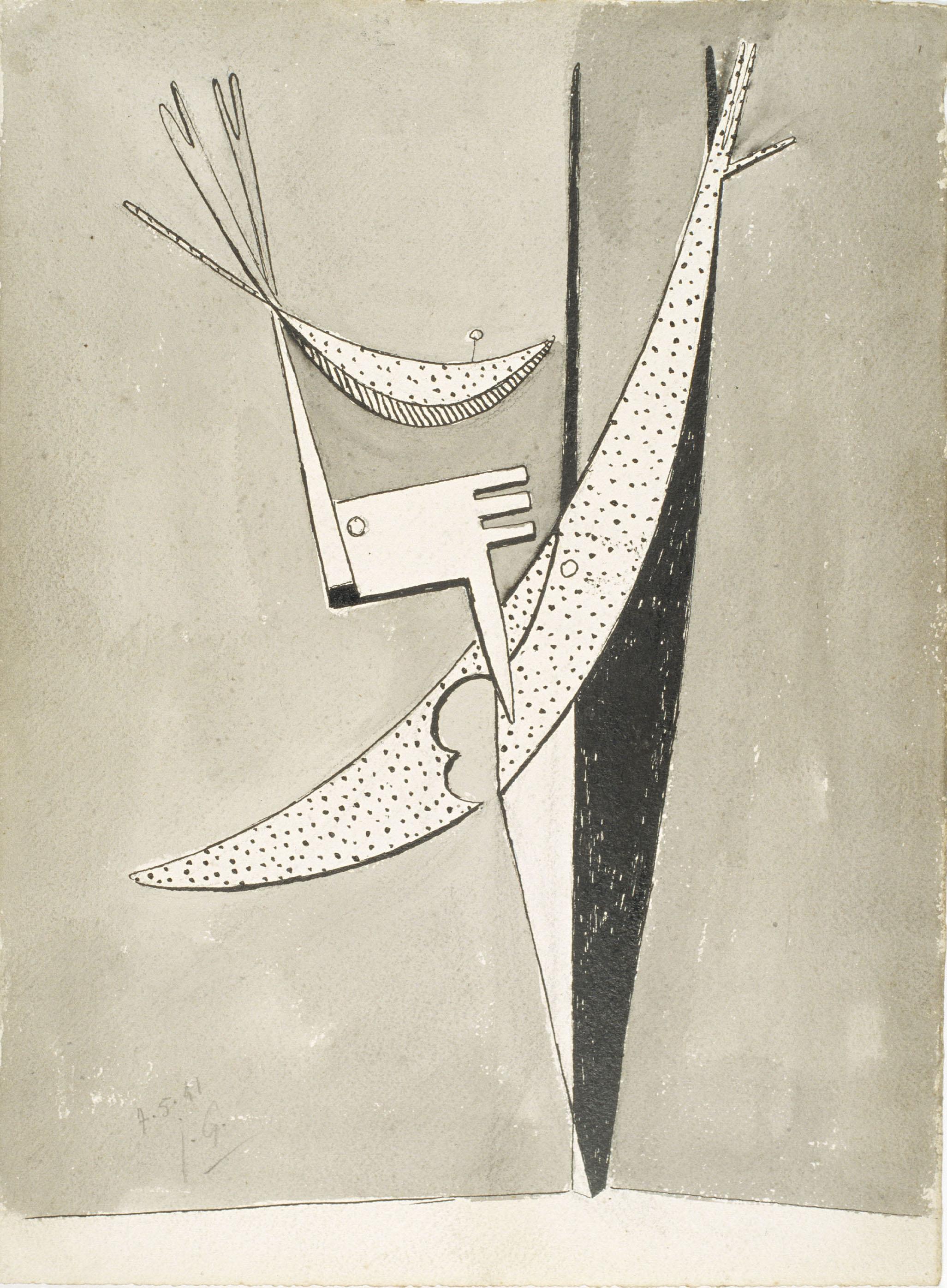 Juli González - Personatge puntejat (Personnage aux pointillés) - 1941