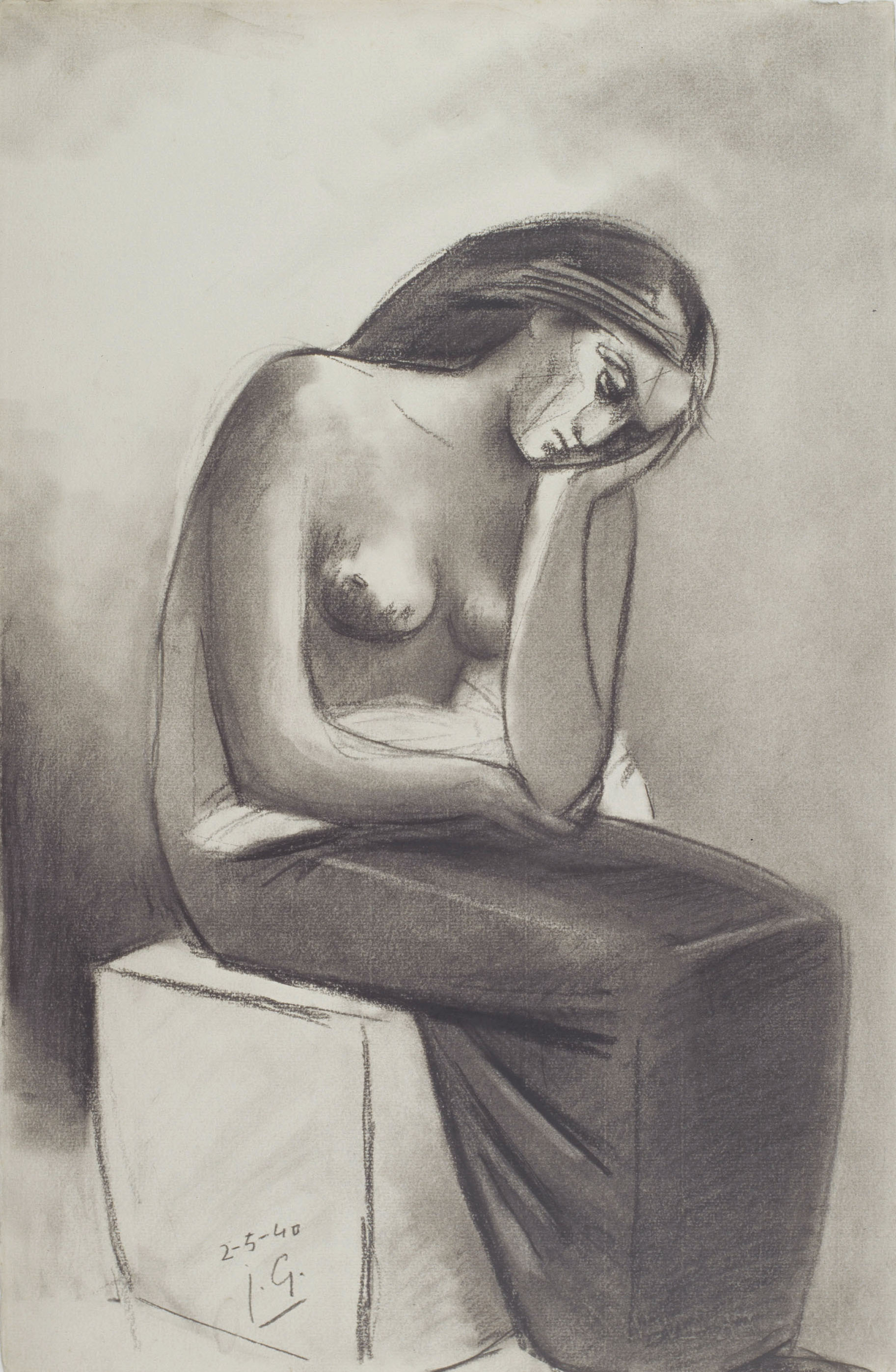 Juli González - Solitud (Solitude) - 1940