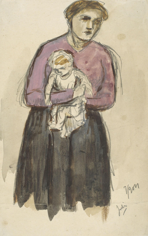 Juli González - Maternitat (Maternité) - 1904