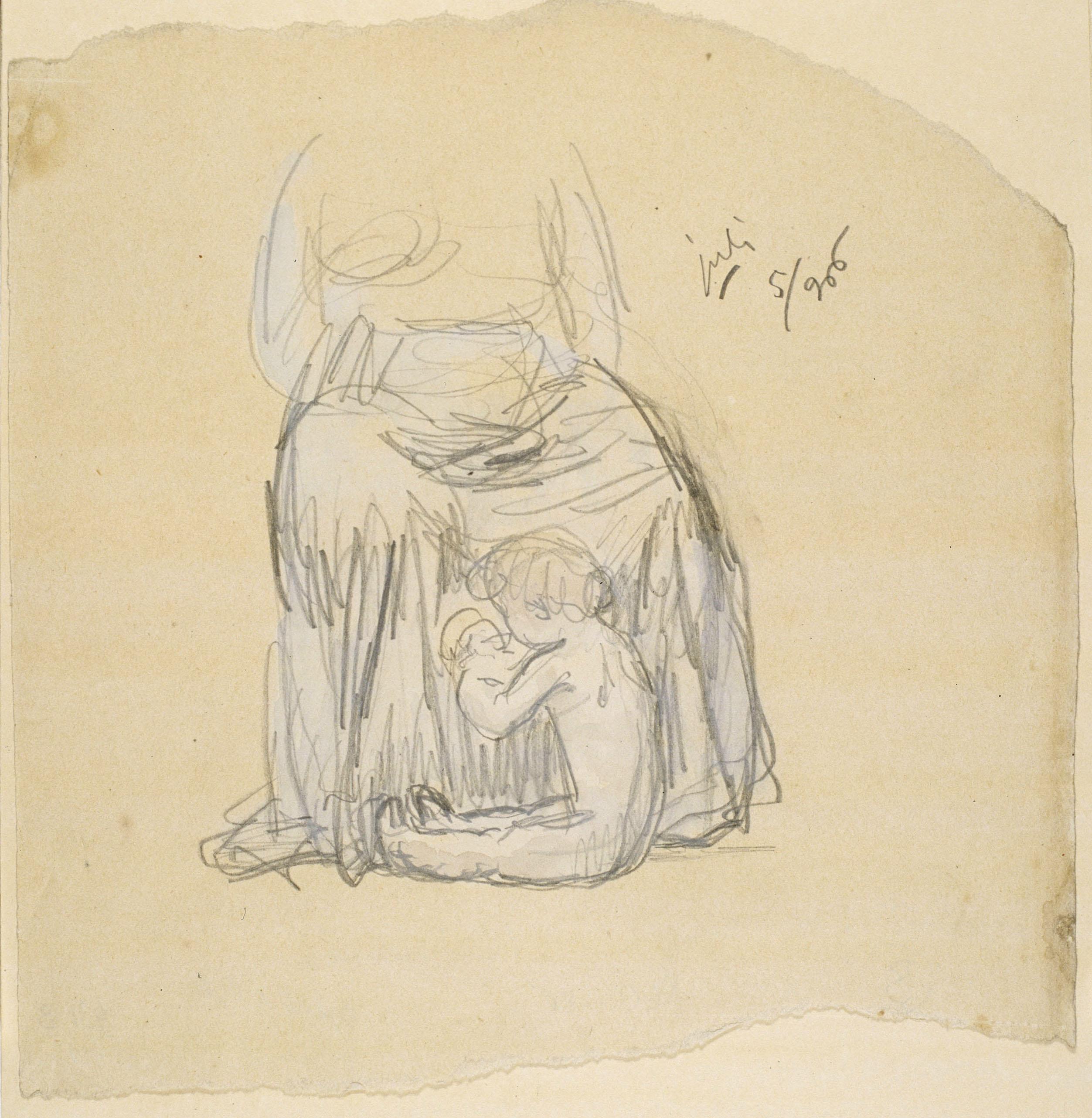 Juli González - Nen i mainadera (Enfant et nourrice) - 1906