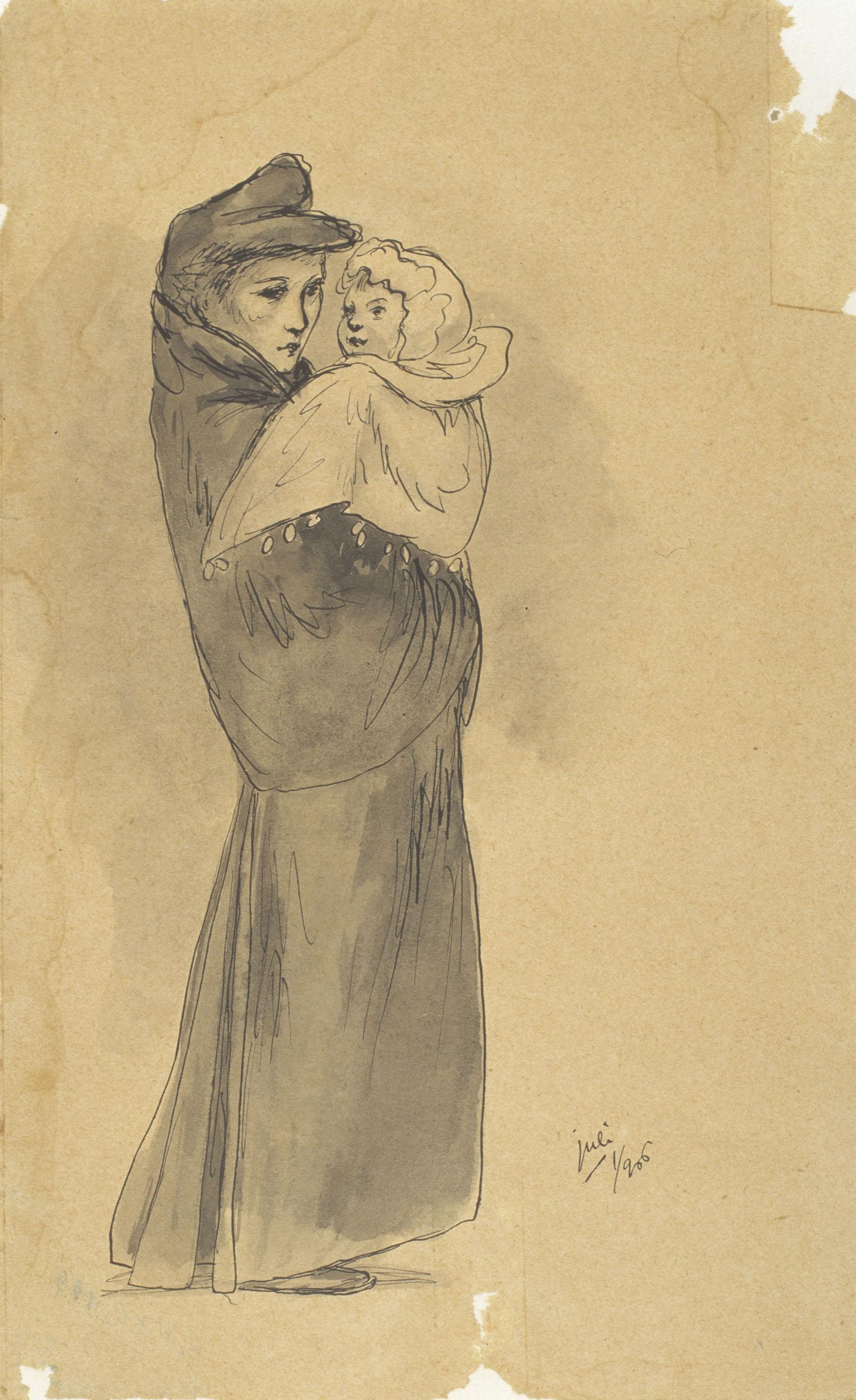 Juli González - Maternitat (Maternité) - 1906