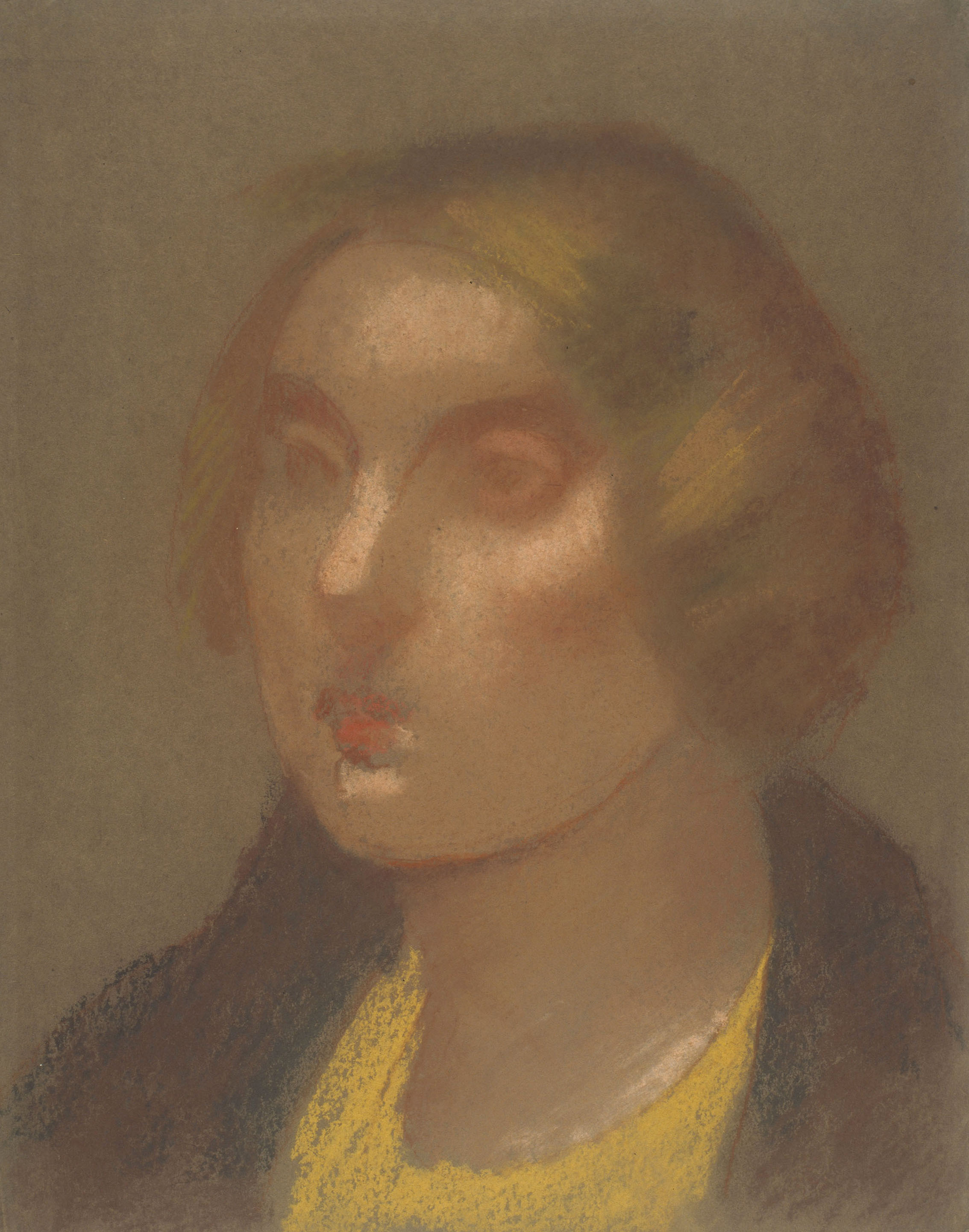 Juli González - Cap de noia (Tête de jeune fille) - Cap a 1920-1925