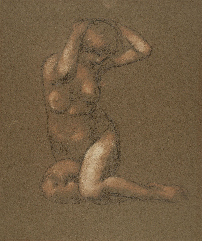 Juli González - Noia embarassada (Jeune femme enceinte) - Cap a 1914-1917