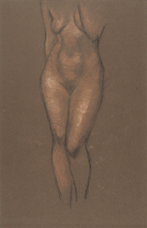 Juli González - Noia jove nua (Jeune femme nue) - Cap a 1914-1917