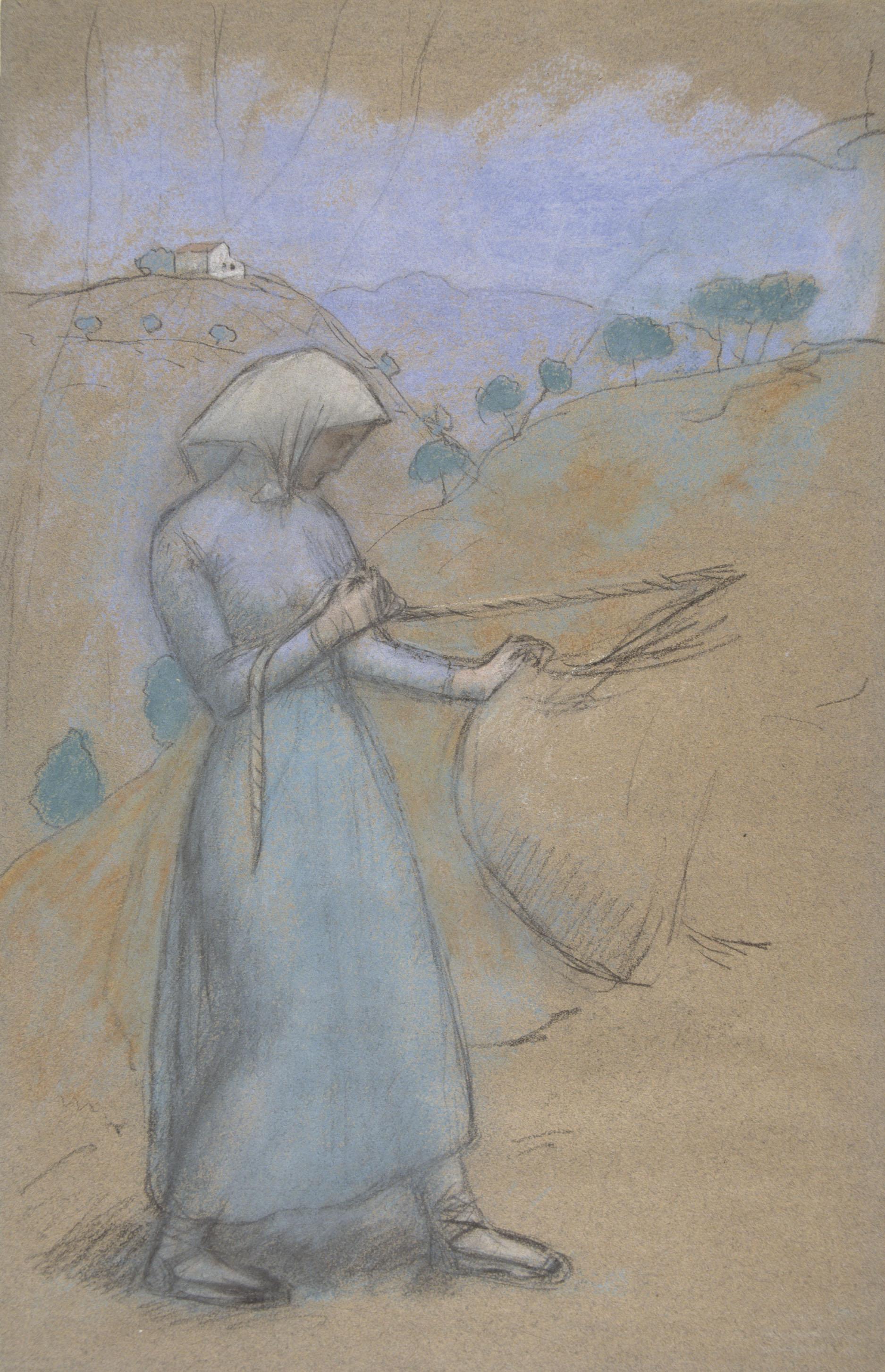 Juli González - Camperola catalana (Paysanne catalane) - Cap a 1904-1914
