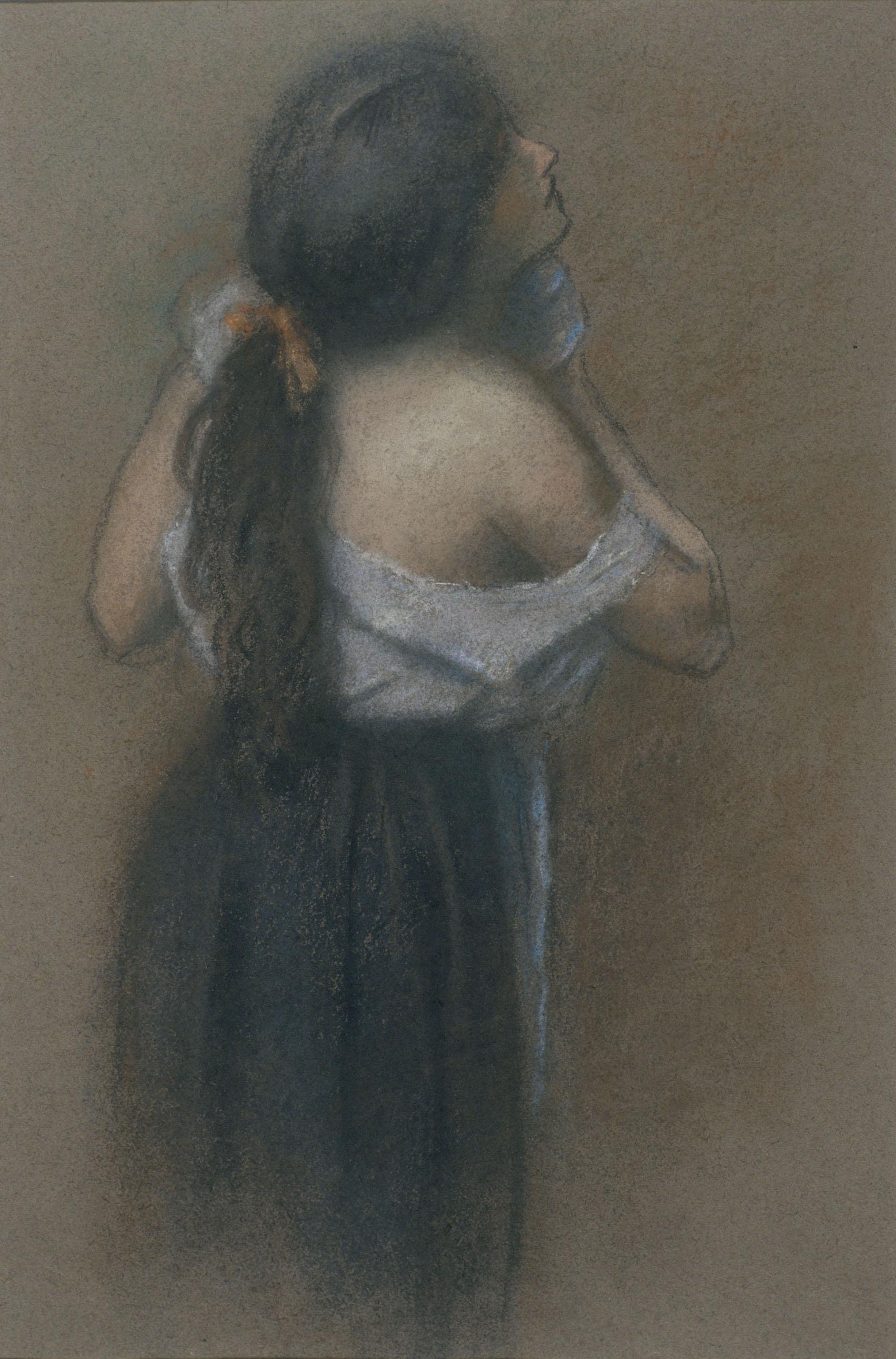 Juli González - Dona rentant-se (Femme se lavant) - 1914-1917