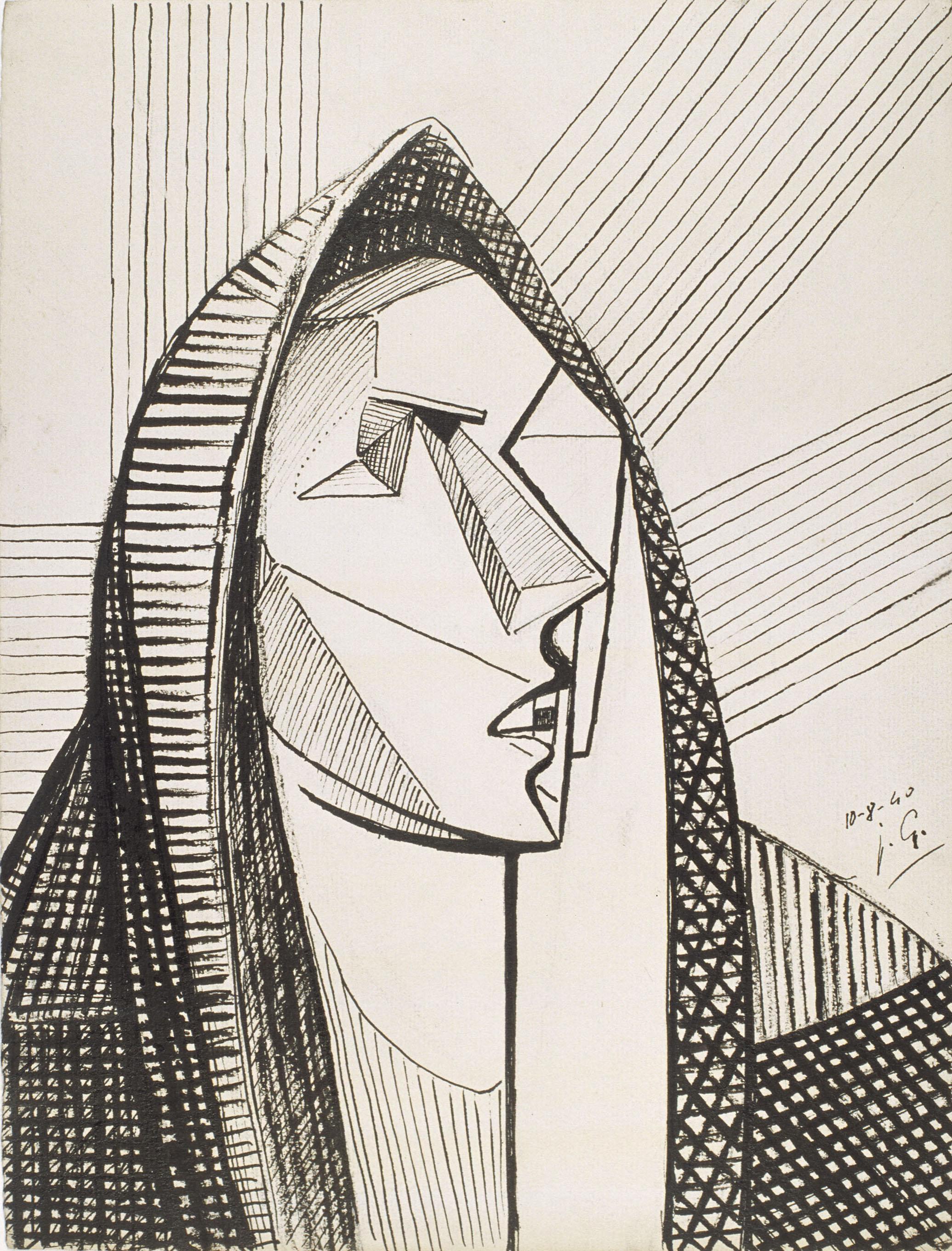 Juli González - Mare de Déu austera (Vierge austere) - 1940