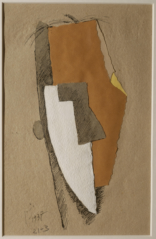 Juli González - Cap blanc i groc (Tête blanc et jaune) - 1937