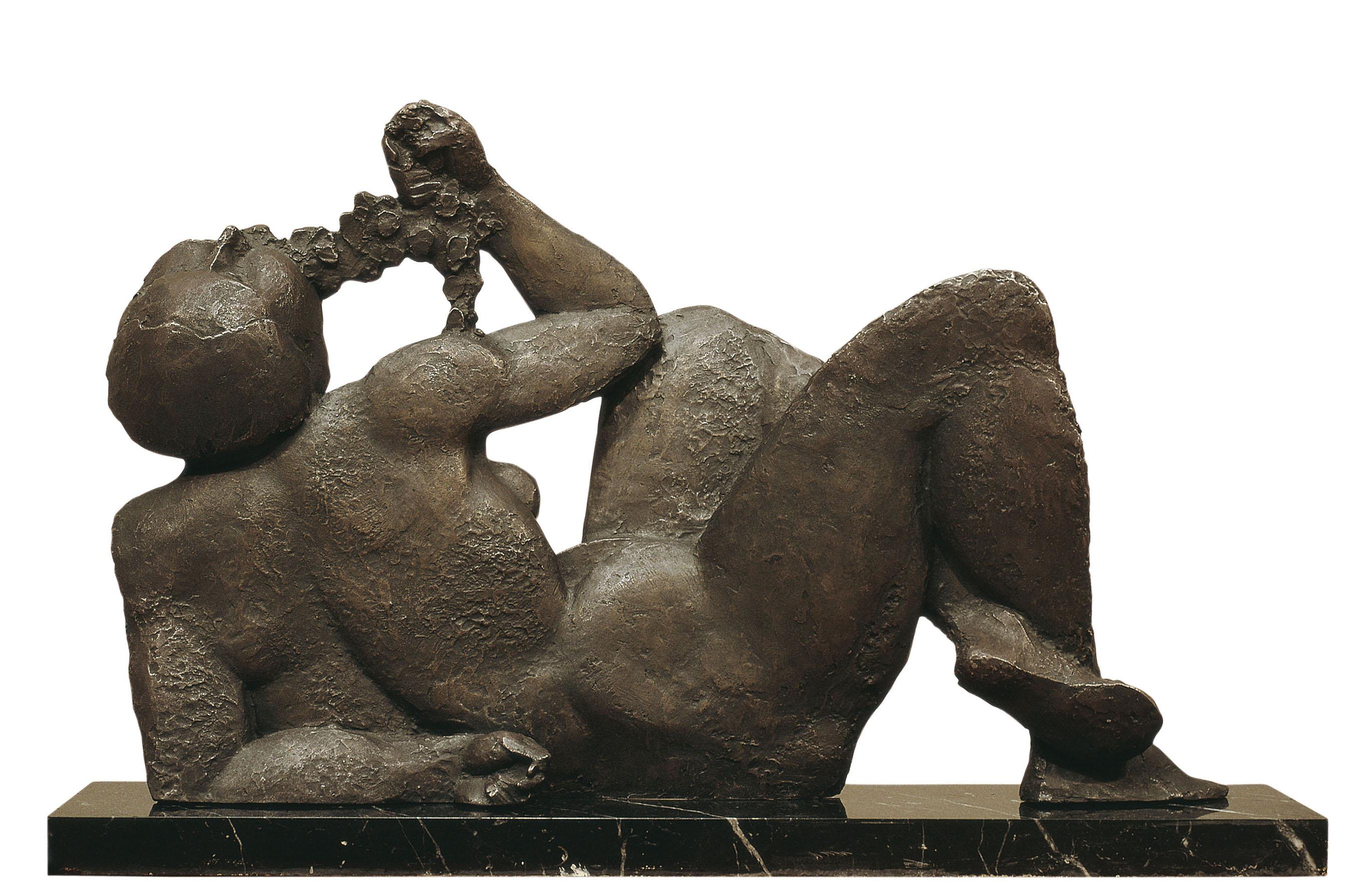 Manolo Hugué - La bacant - Caldes de Montbui, 1934